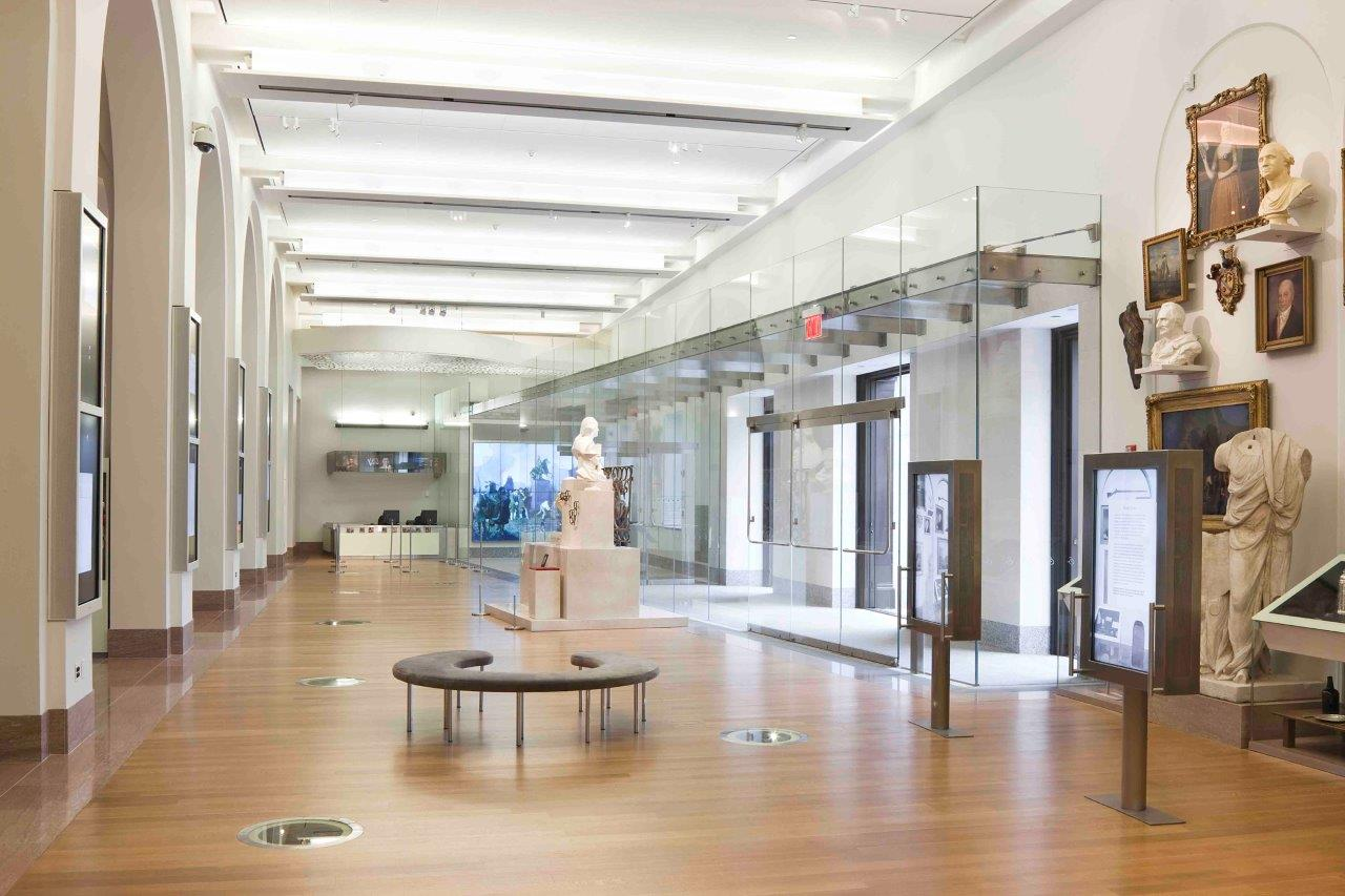 NYHS Institutional Revitalization_Photo_Looking Toward Glass Entrance.jpg