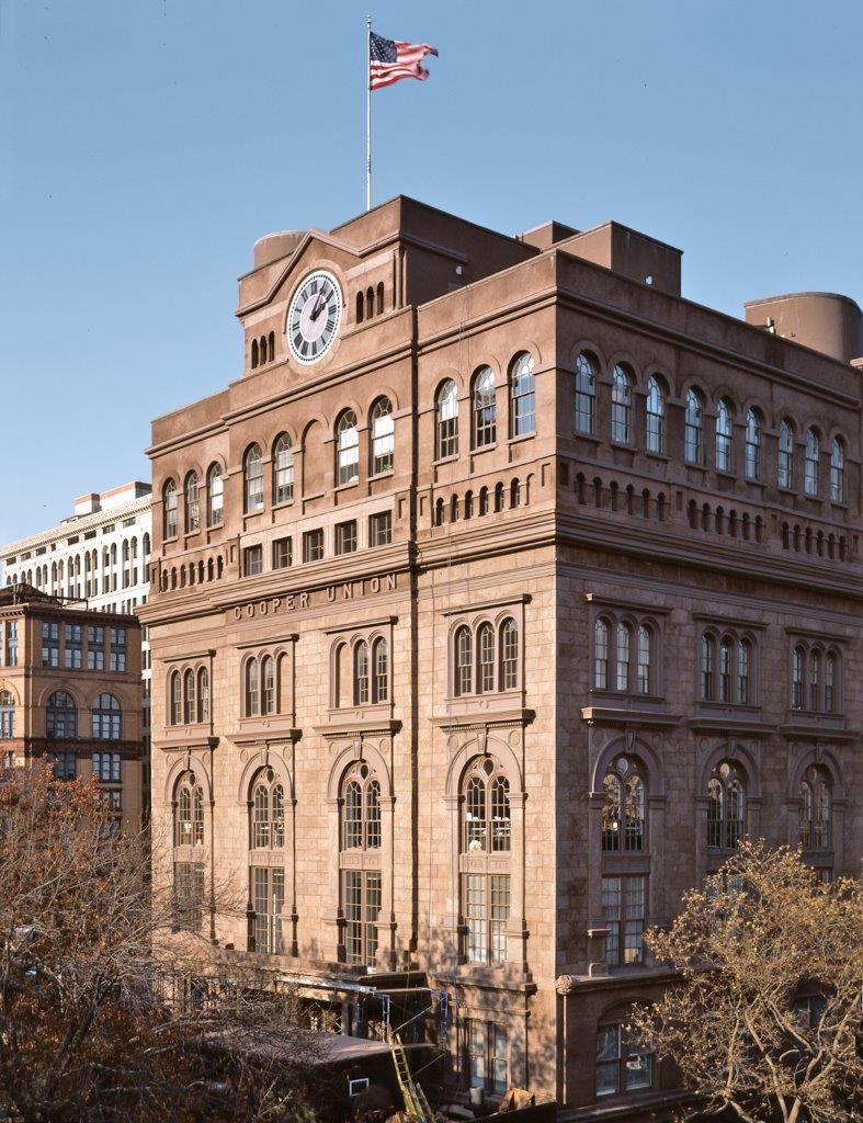 Cooper Union Foundation Building facade