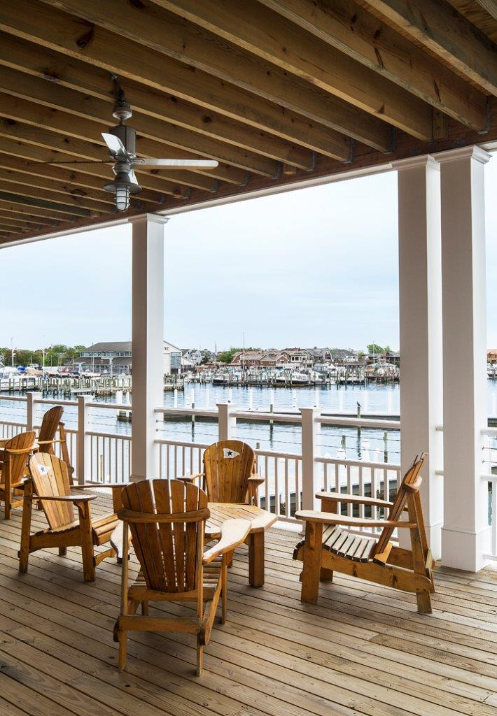 Bay Head Yacht Club deck