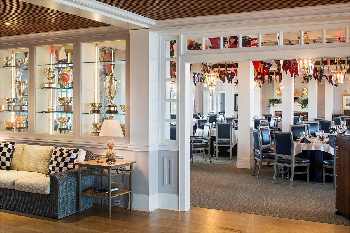 Bay Head Yacht Club interior