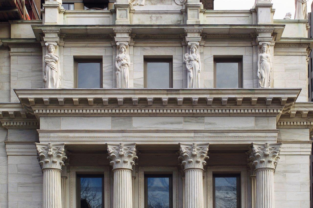 Appellate Division Courthouse facade detail