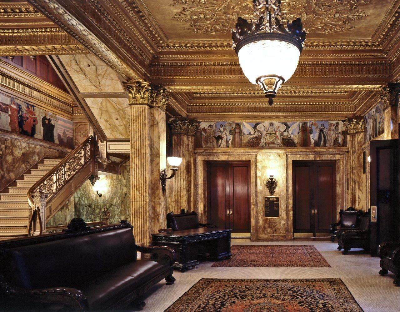 Appellate Division Courthouse interior lobby