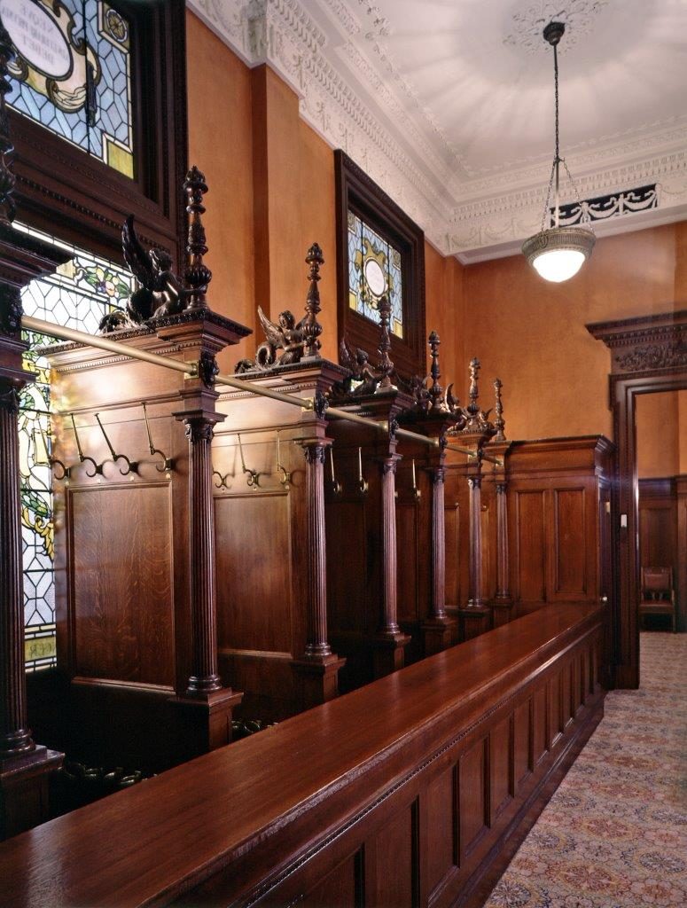 Appellate Division Courthouse interior detail