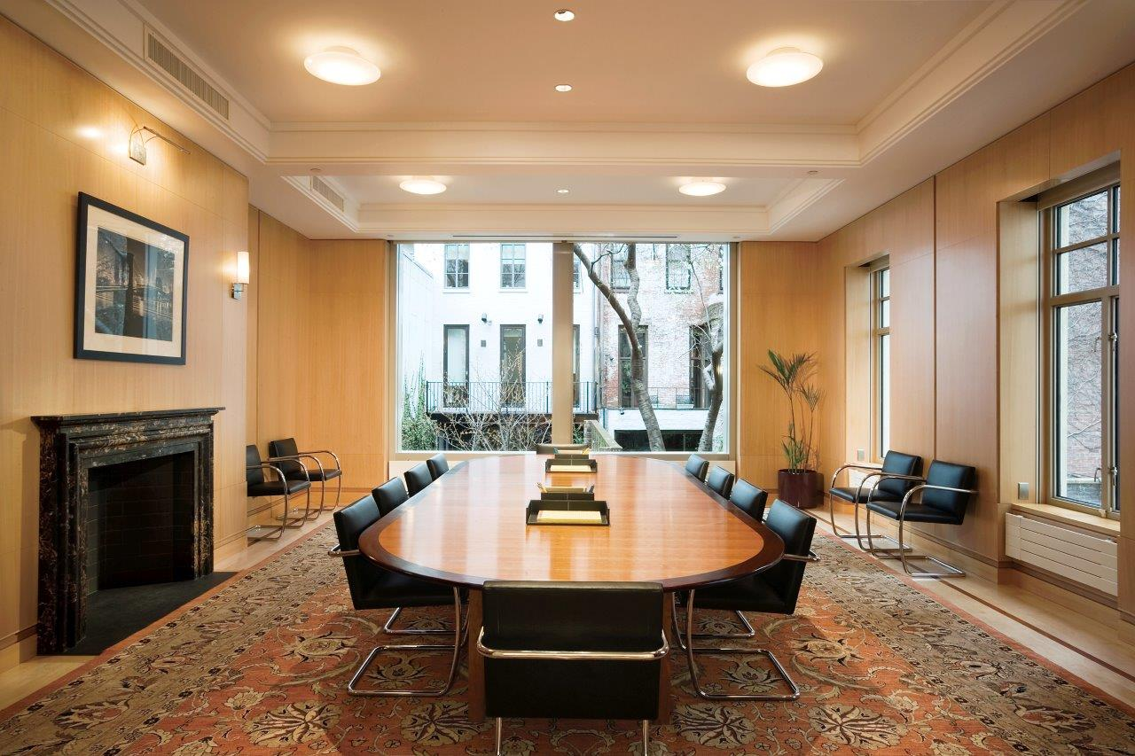 Andrew W. Mellon Foundation conference room