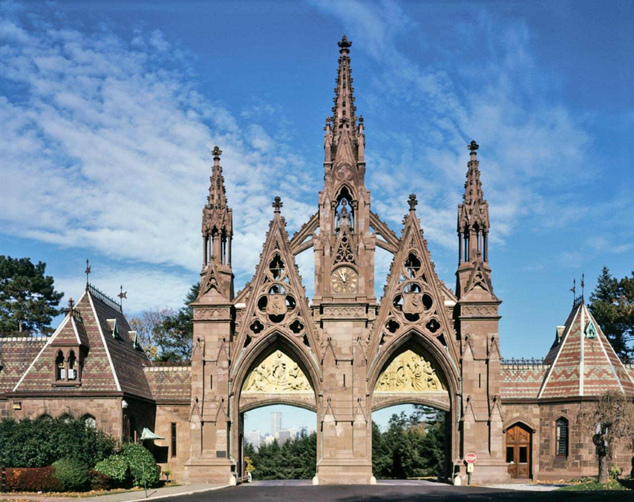 Gothic Revival Entry Gate