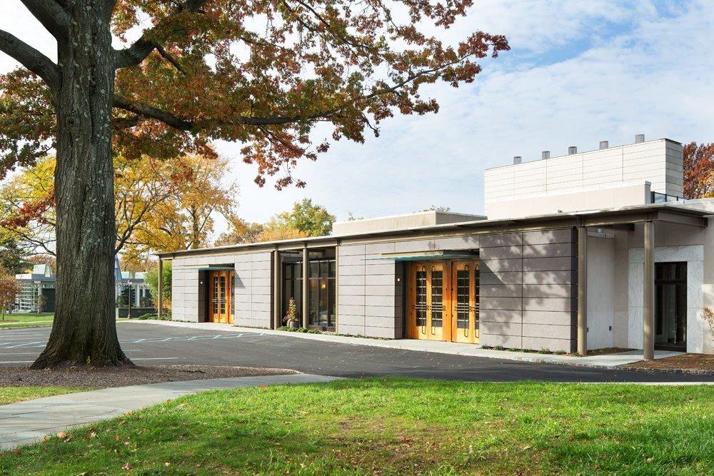 Green-Wood Modern Chapel Addition