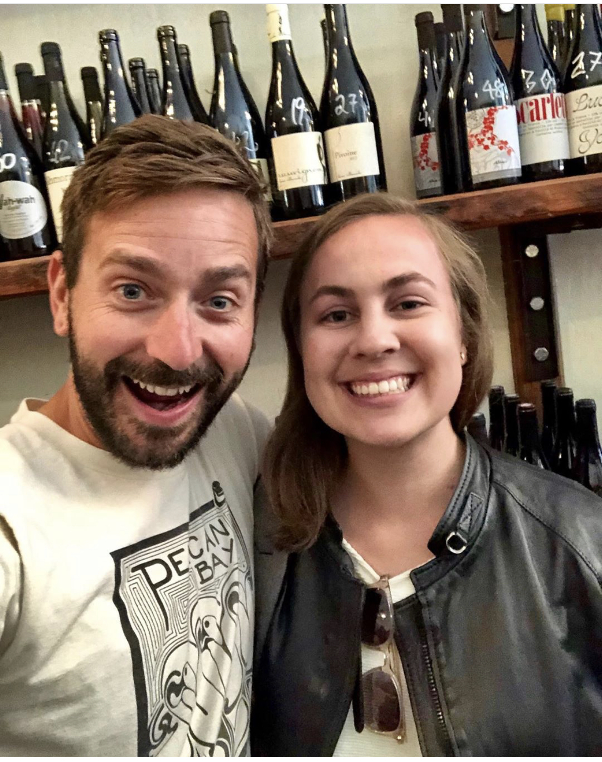 OMG! It's Claire with Evan Lewandowski!
