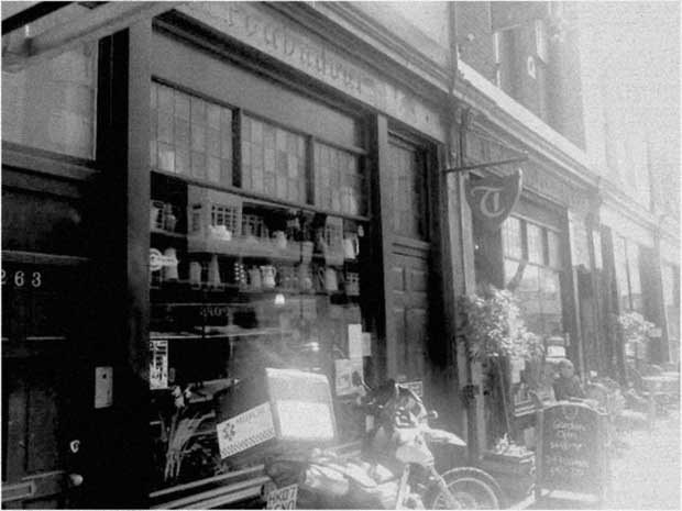 The original Troubadour Club and Coffee House, Old Brompton Road, London