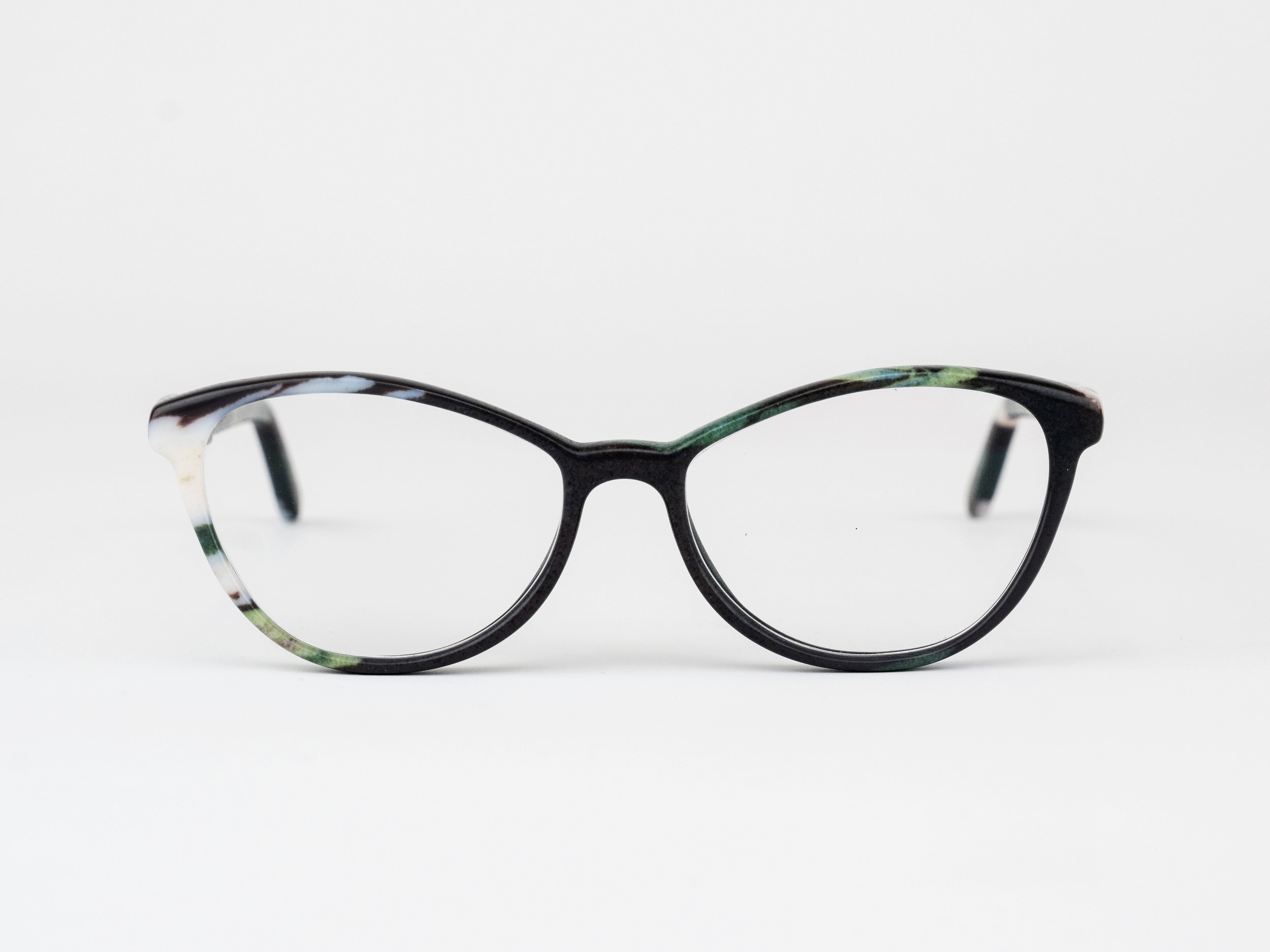 Austen - For those who flout sensibility. The Austen is an elegant, head turning cateye frame inspired by the enduring author.Available in any color or pattern that your heart desires.