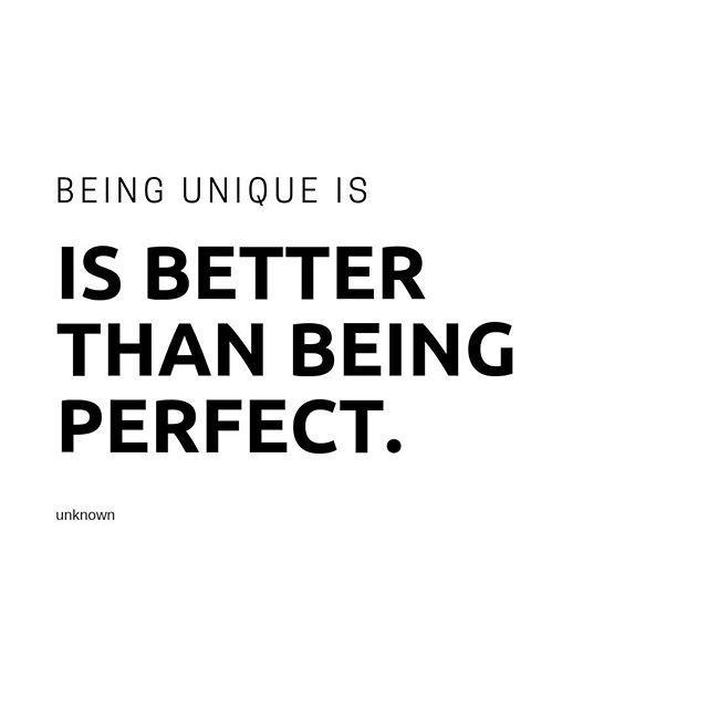 Be unique. #specsy