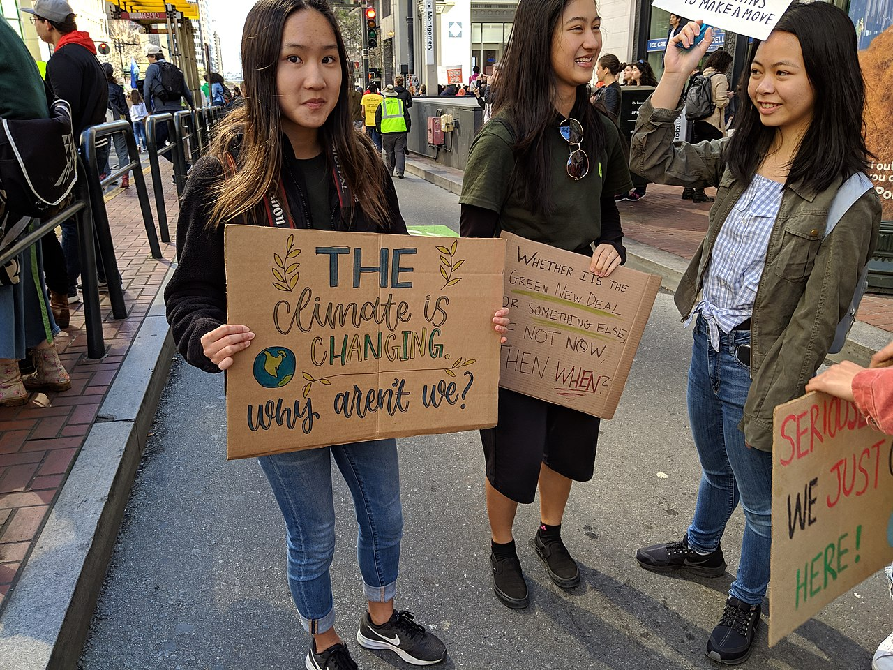 San Francisco Youth Climate March // Creative Commons