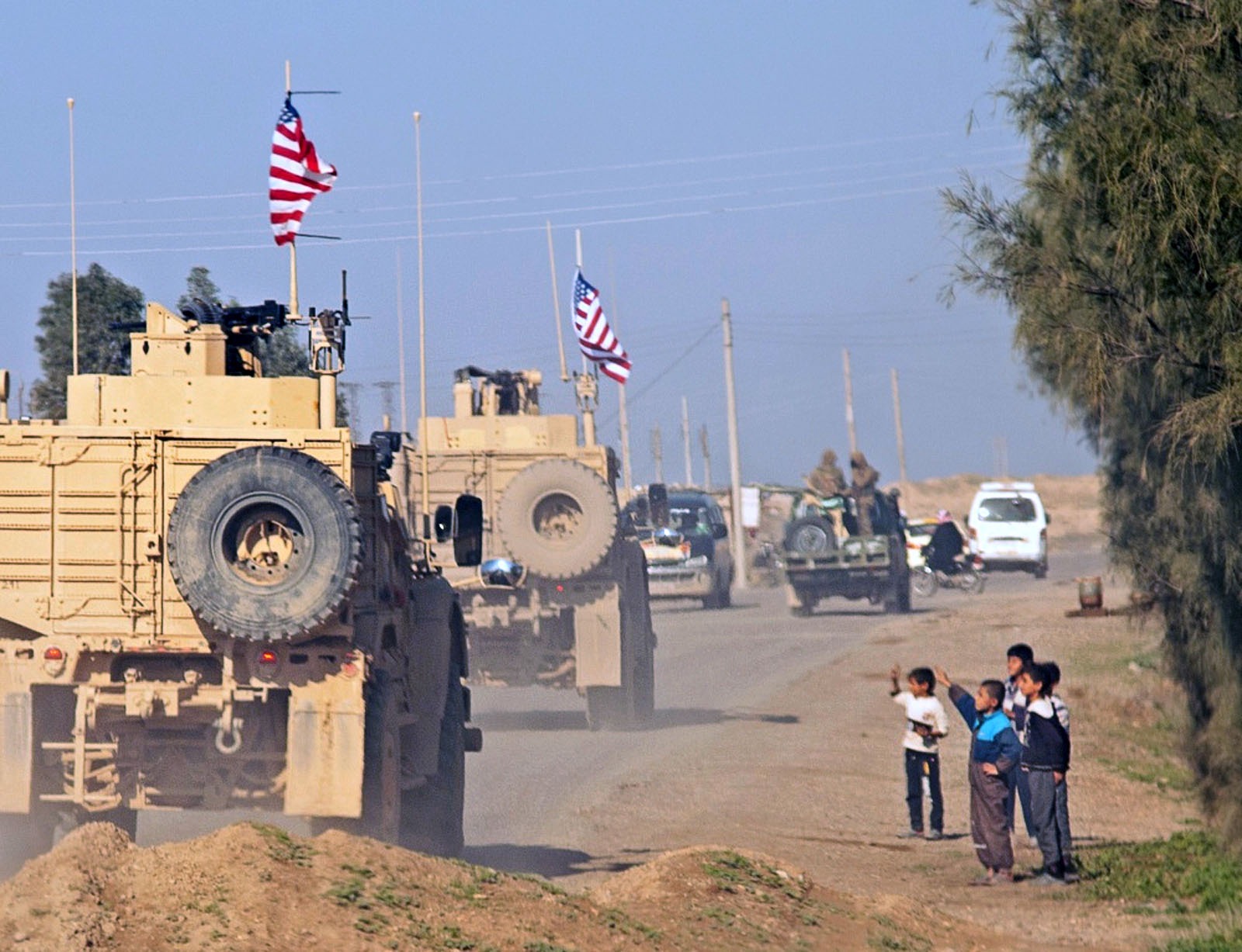 U.S. soldiers in Syria. // Creative Commons