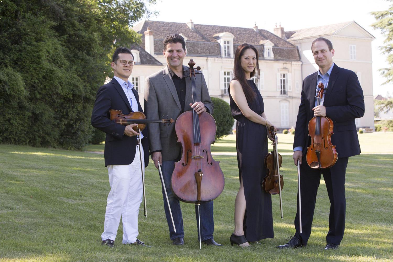 Quartet 212: David Chan, Catherine Ro, Dov Scheindlin, and Rafael Figueroa