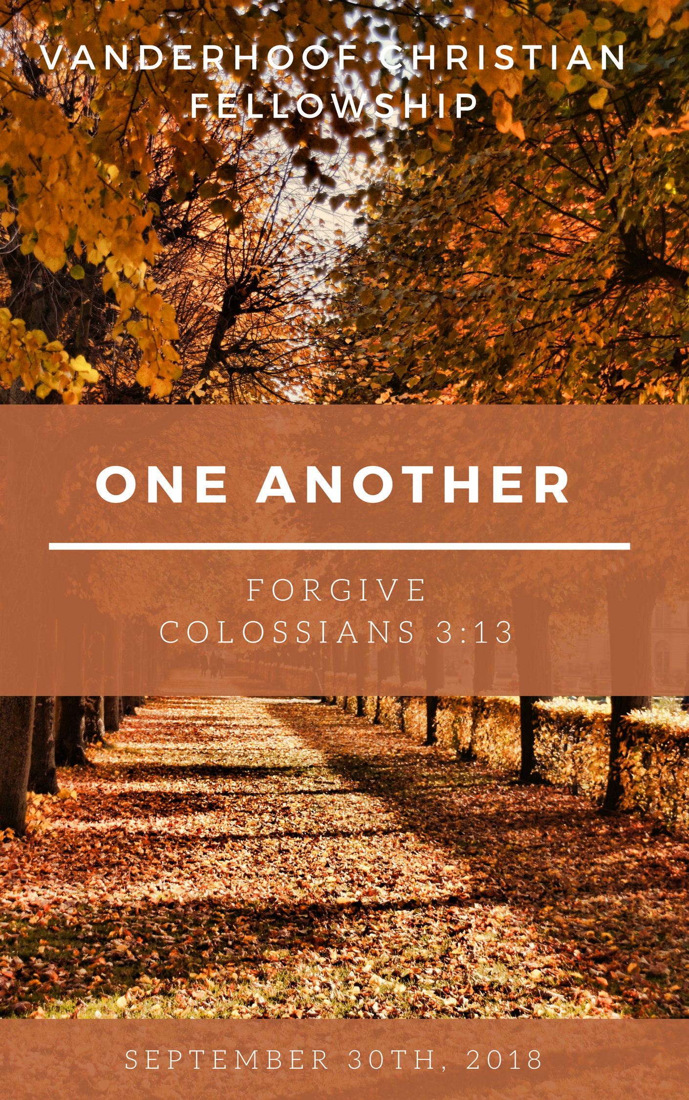 One Another... Sermon Series