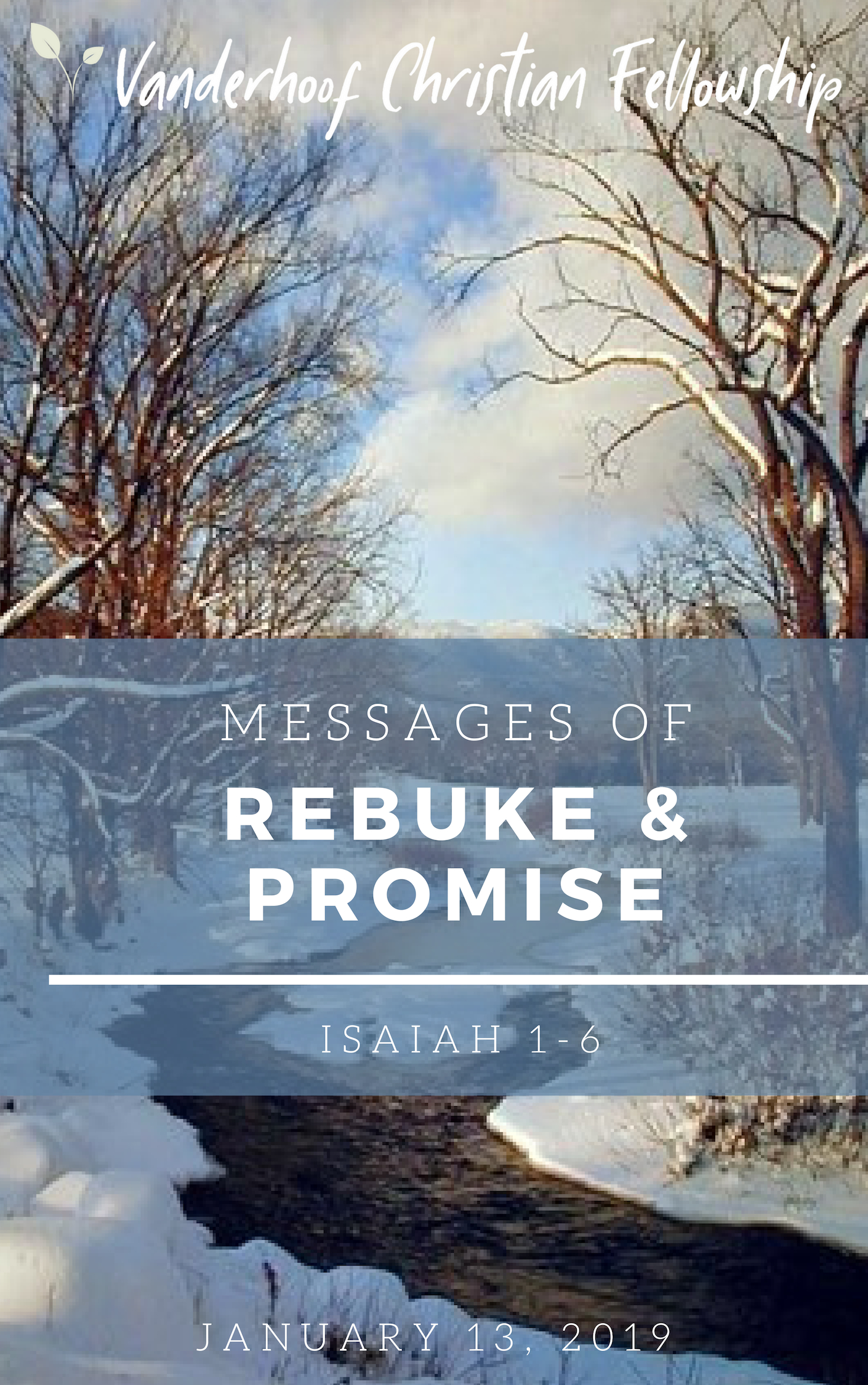Messages of Rebuke & Promise