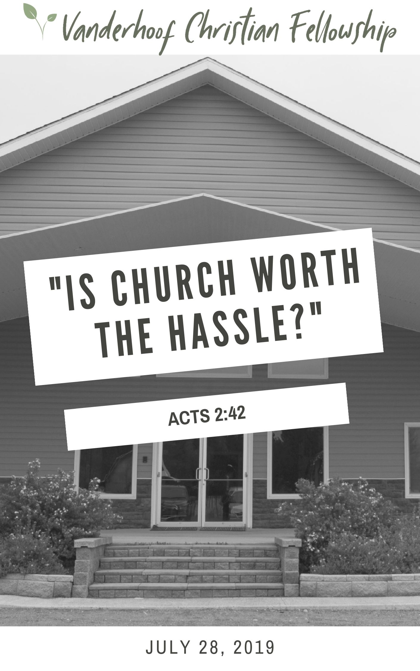 Is Church Worth The Hassle?