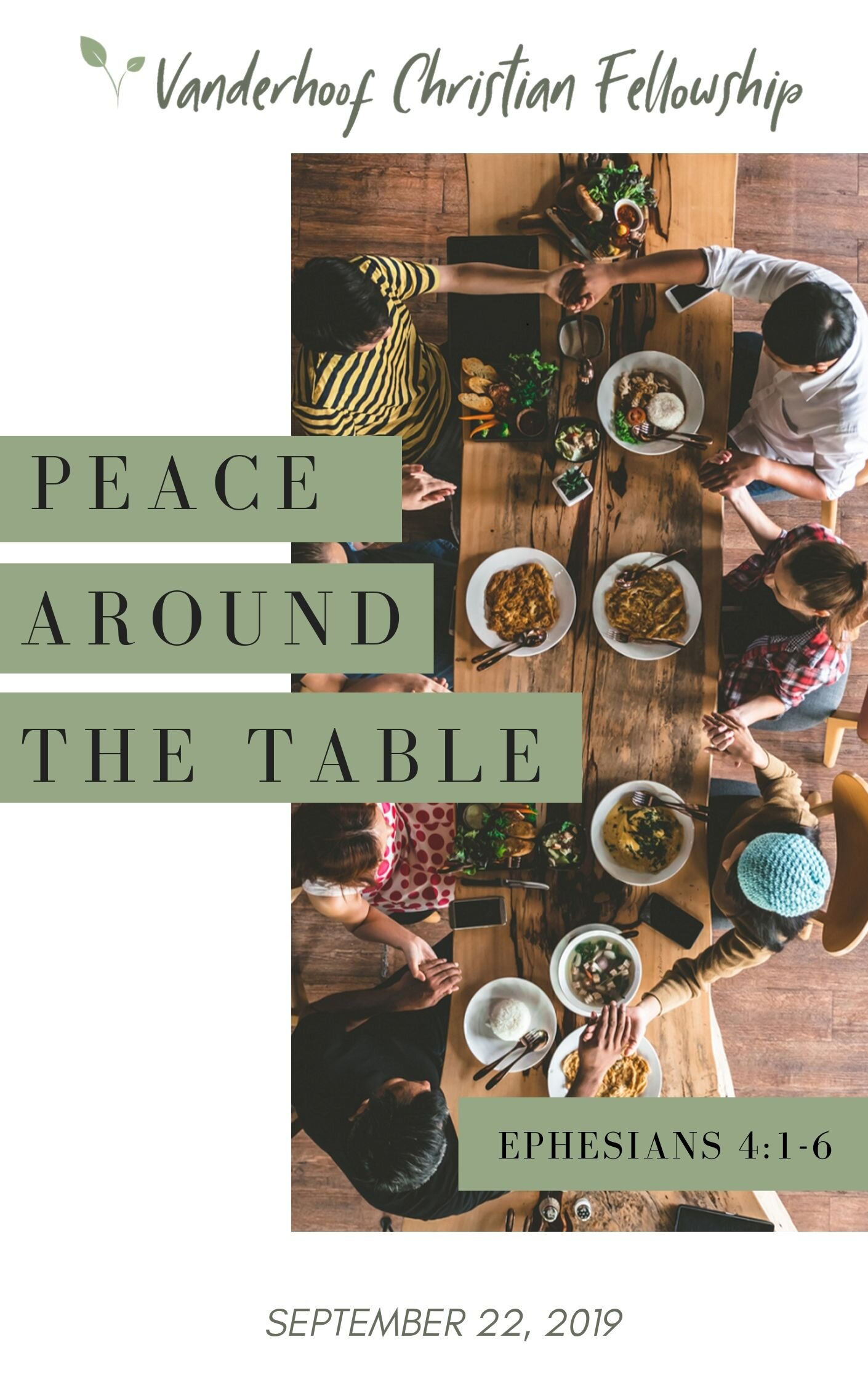 Peace Around The Table