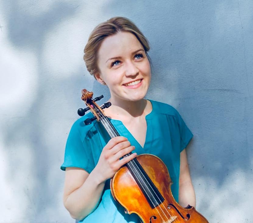 Marielle Iivonen, violin