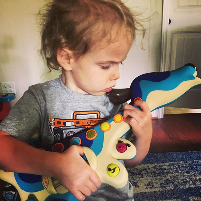 Never too young to rock 🎸