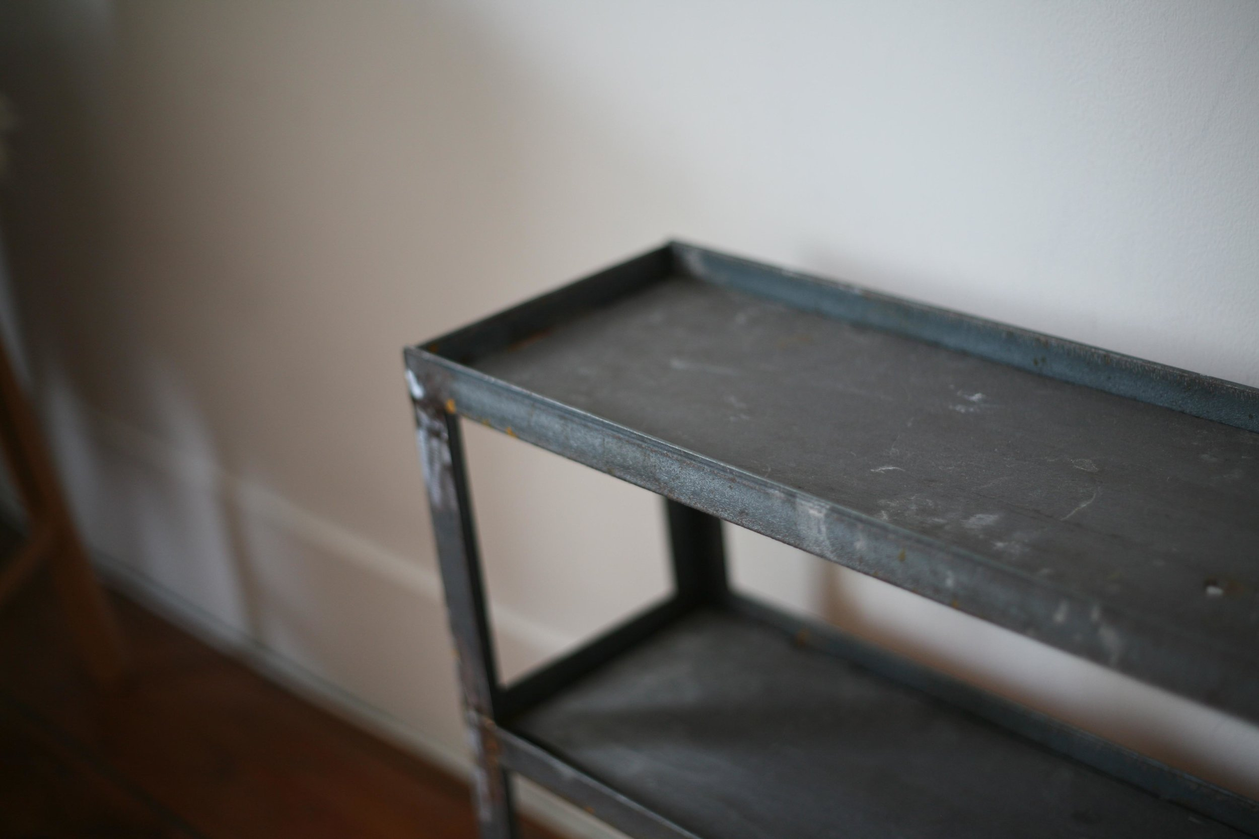 Steel Shelf: Slate / Steel