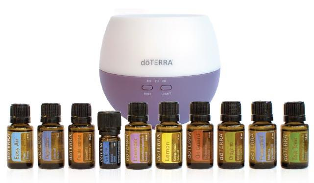 Home Essentials Kit with free diffuser $330