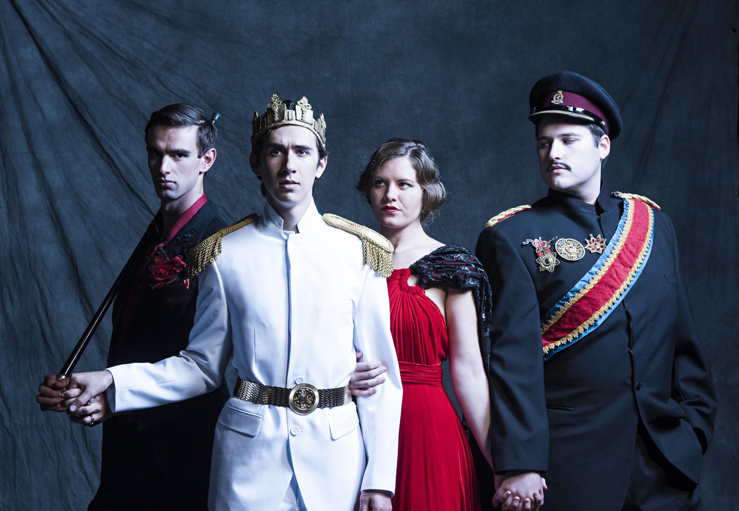 Edward II  Gaveston/Lightborn  UBC Theatre - Mary Vingoe  2016