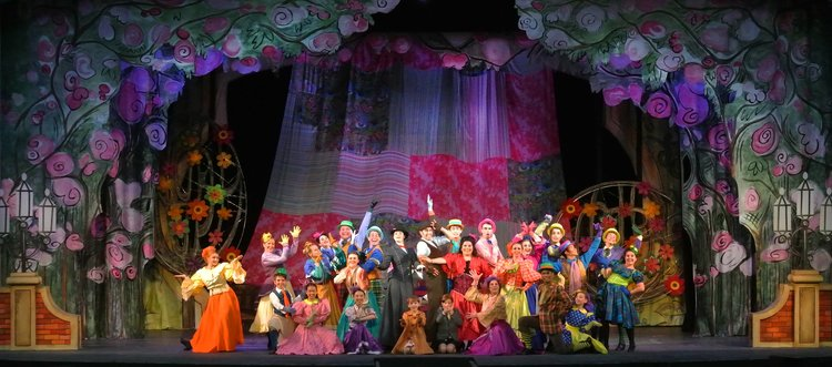 Mary Poppins  Park Keeper/ Ensemble  Theatre Under the Stars - Shel Piercy  2017    E.V. Young Memorial Scholarship Award (Outstanding Performance by a non-Professional)     2 Ovation Awards + 7 other Nominations