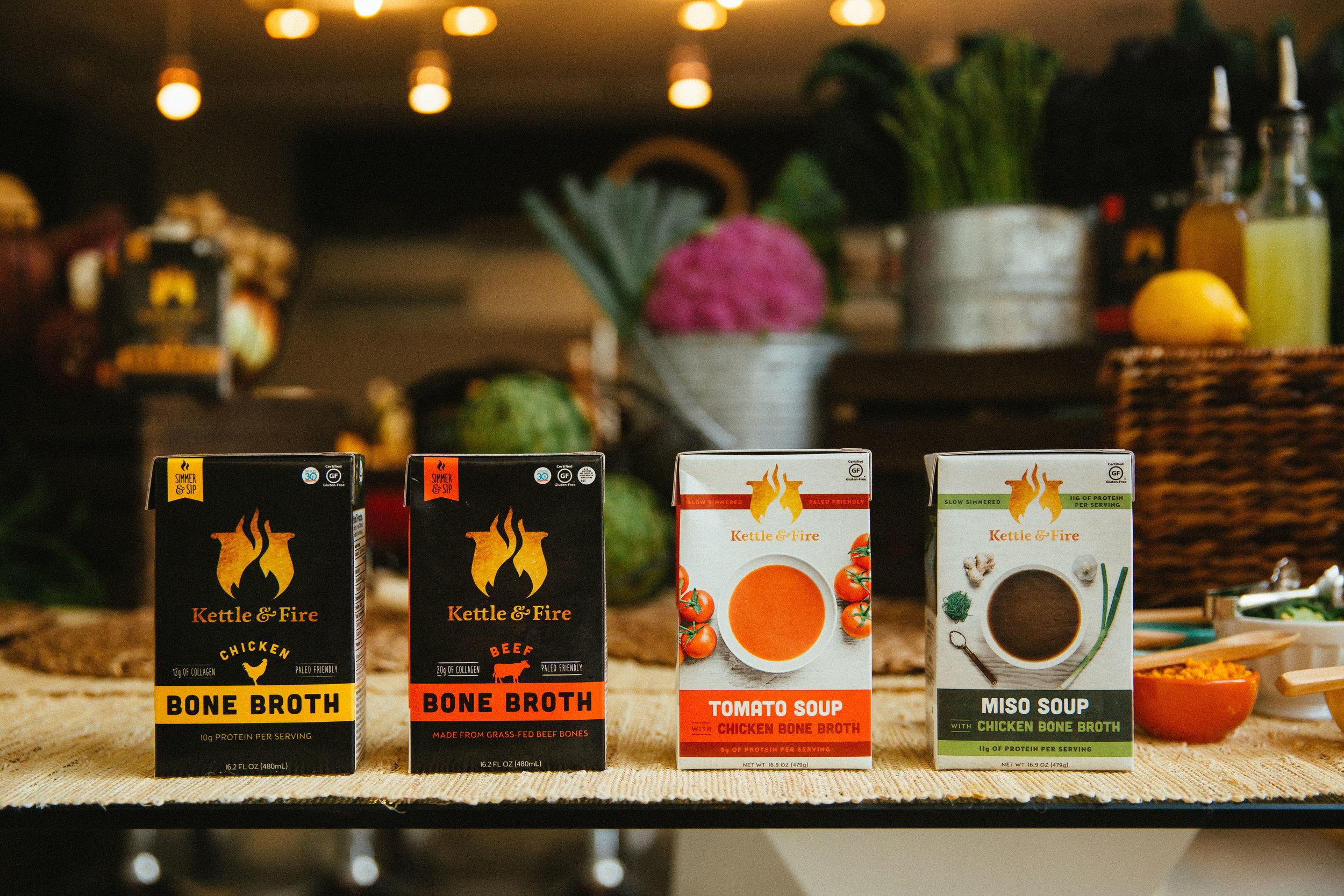 Hidden Rhythm Experiential Marketing - Kettle & Fire Influencer Dinner