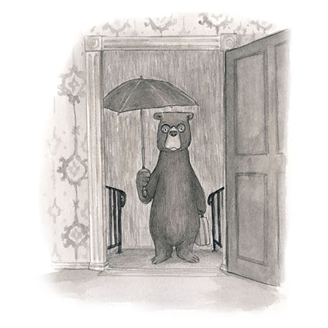 Rainy Day Bear