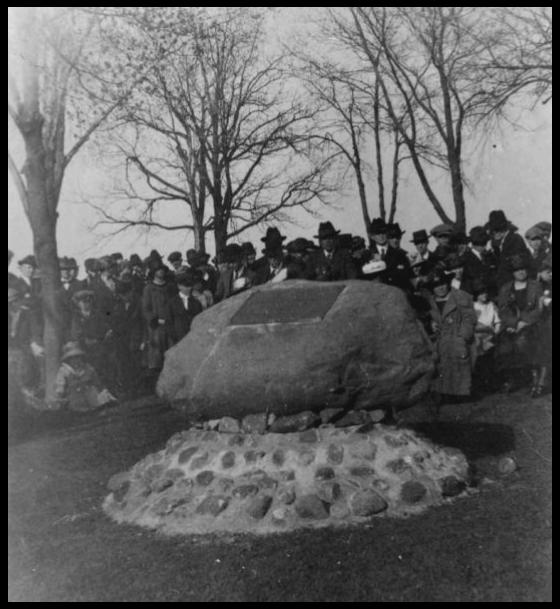 Allouez Marker Dedication- 1921