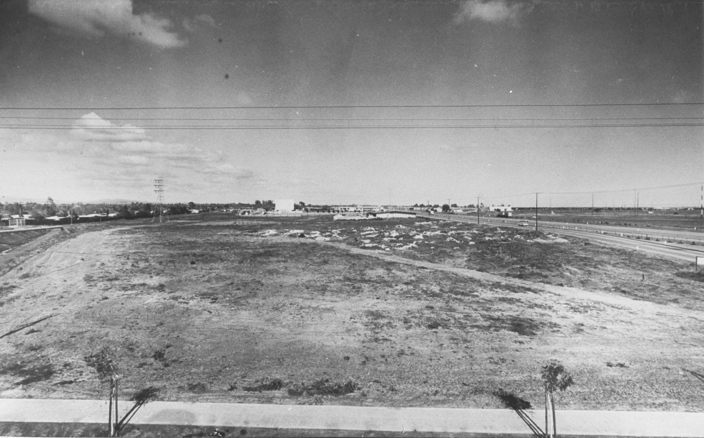 Site of Future Greer Park, 1963