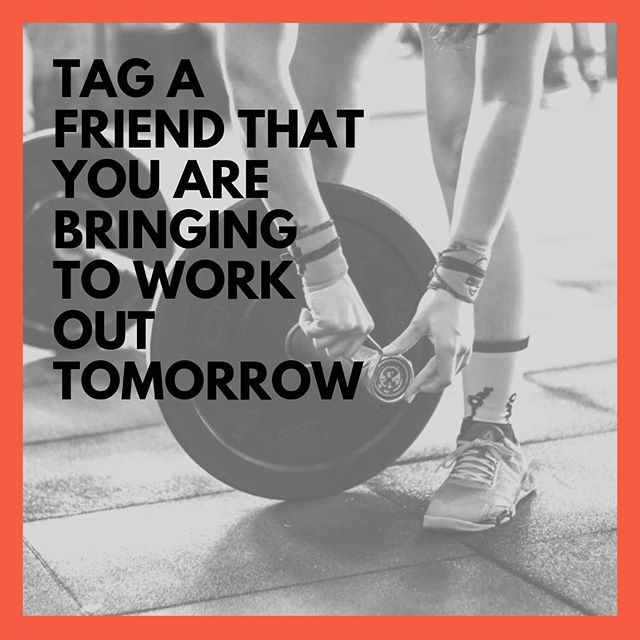 Tag a friend that you are bringing to work out tomorrow for Bring A Friend Saturday! #fitfam #cvfs #calaverascounty #crossfit #amadorcounty #crossfitvalleysprings #sharingiscaring
