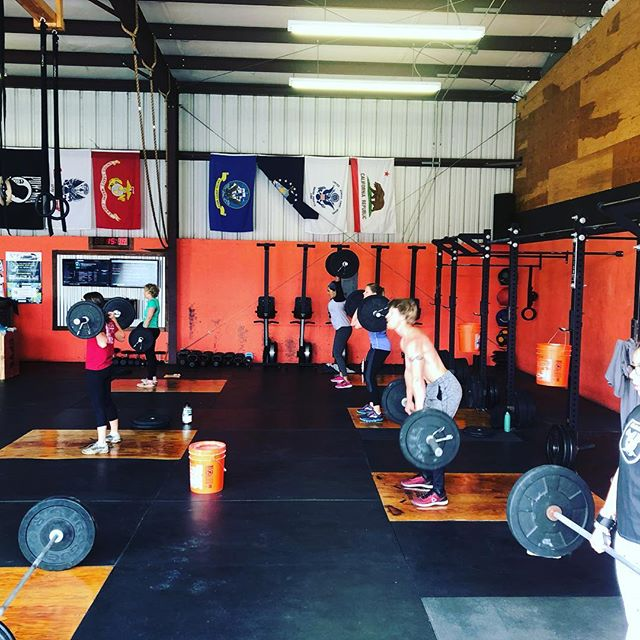 If it was easy EVERYONE would be doing it #crossfit #cfvs #crossfitvalleysprings #committobefit #weightlifting #strength #endurance #community #valleysprings