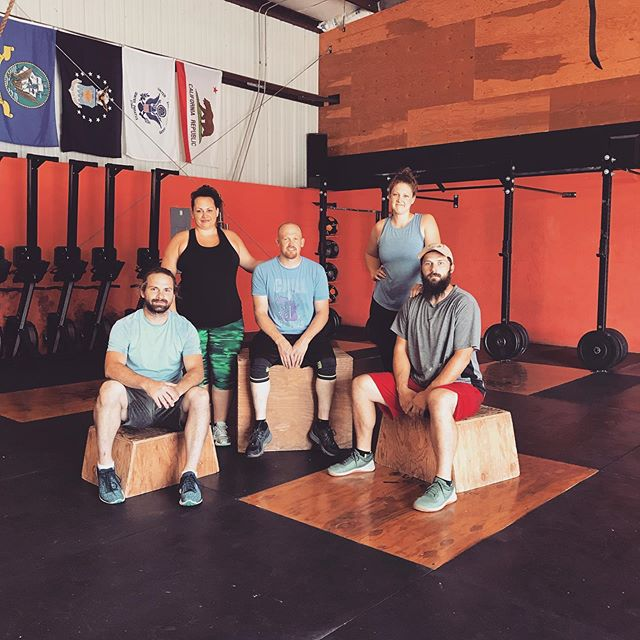 With much excitement we would like to introduce ourselves to you as the new owners of Crossfit Valley Springs! We're so honored to have this opportunity and can't wait to see where we can take it! We are Bernard, Ingrid, Aaron, Elizabeth (who just received her L1), and Nils. Bernard, Ingrid, and Nils are siblings. Aaron is Ingrid's husband, and Elizabeth is Nils' wife. 😊 #crossfitvalleysprings #crossfit