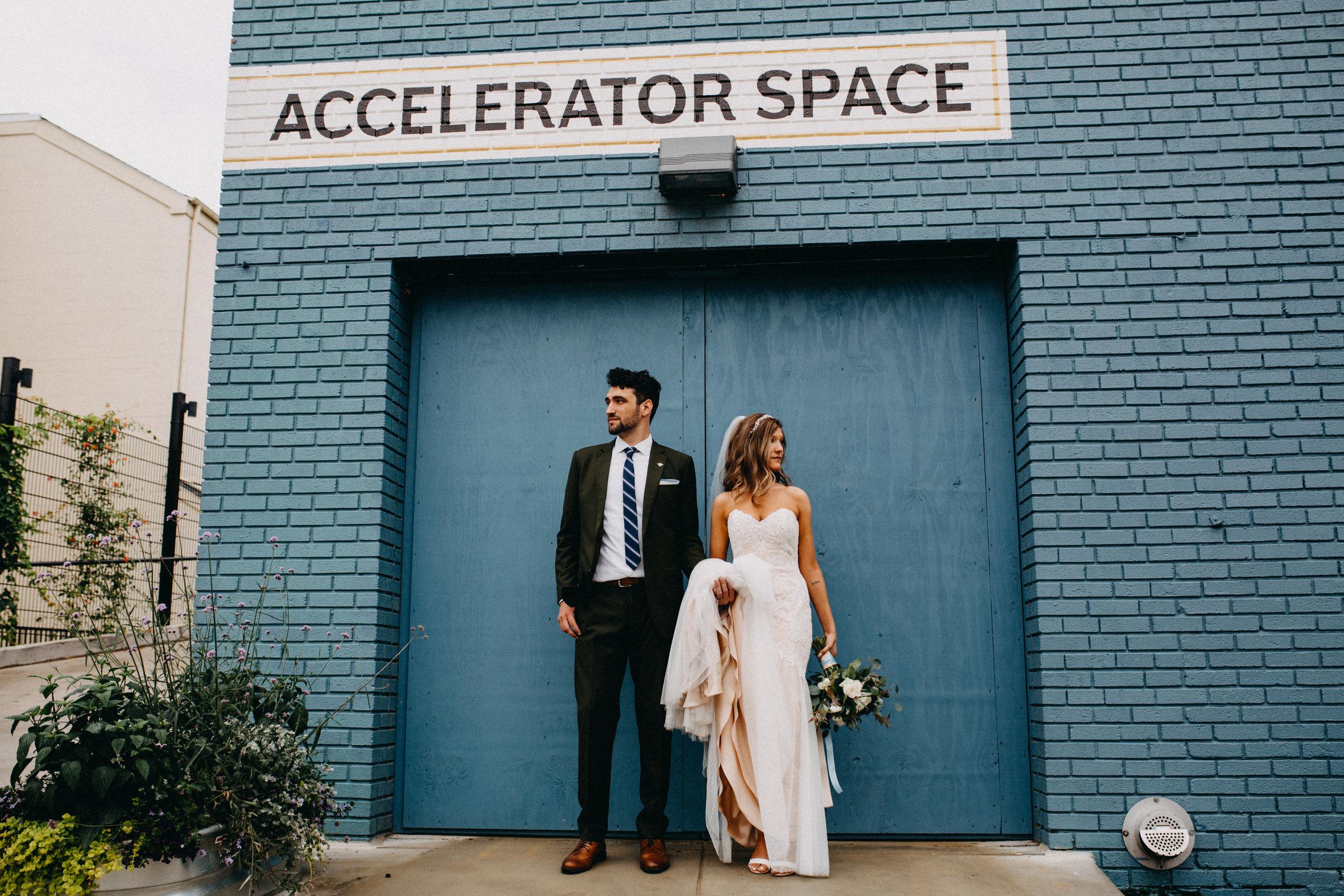 Accelerator Space Wedding