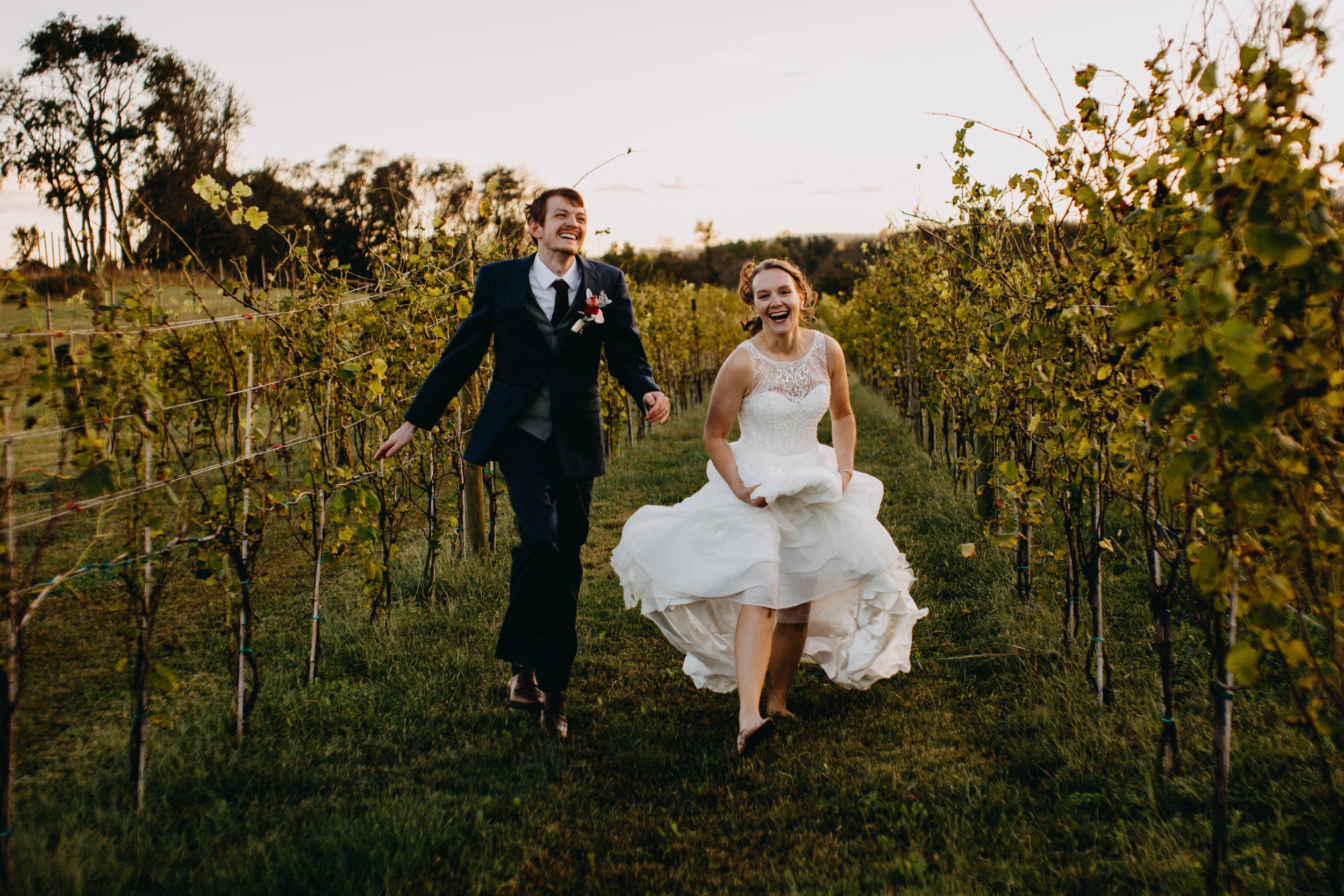 Kalero Vineyard Wedding