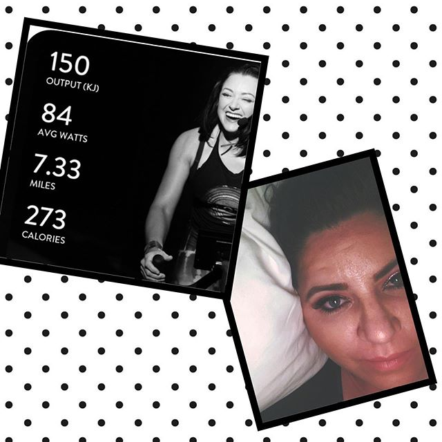 Back at it today! Felt really good to saddle up with @onepeloton! 30 minute Advanced Beginner ride. #pelotoncycle #iamicaniwillido #cdetribe #sweateveryday #therealtabithaanderson #peloton #firstdayback #beamazing #spinmom #spinathome #taketimeforyou
