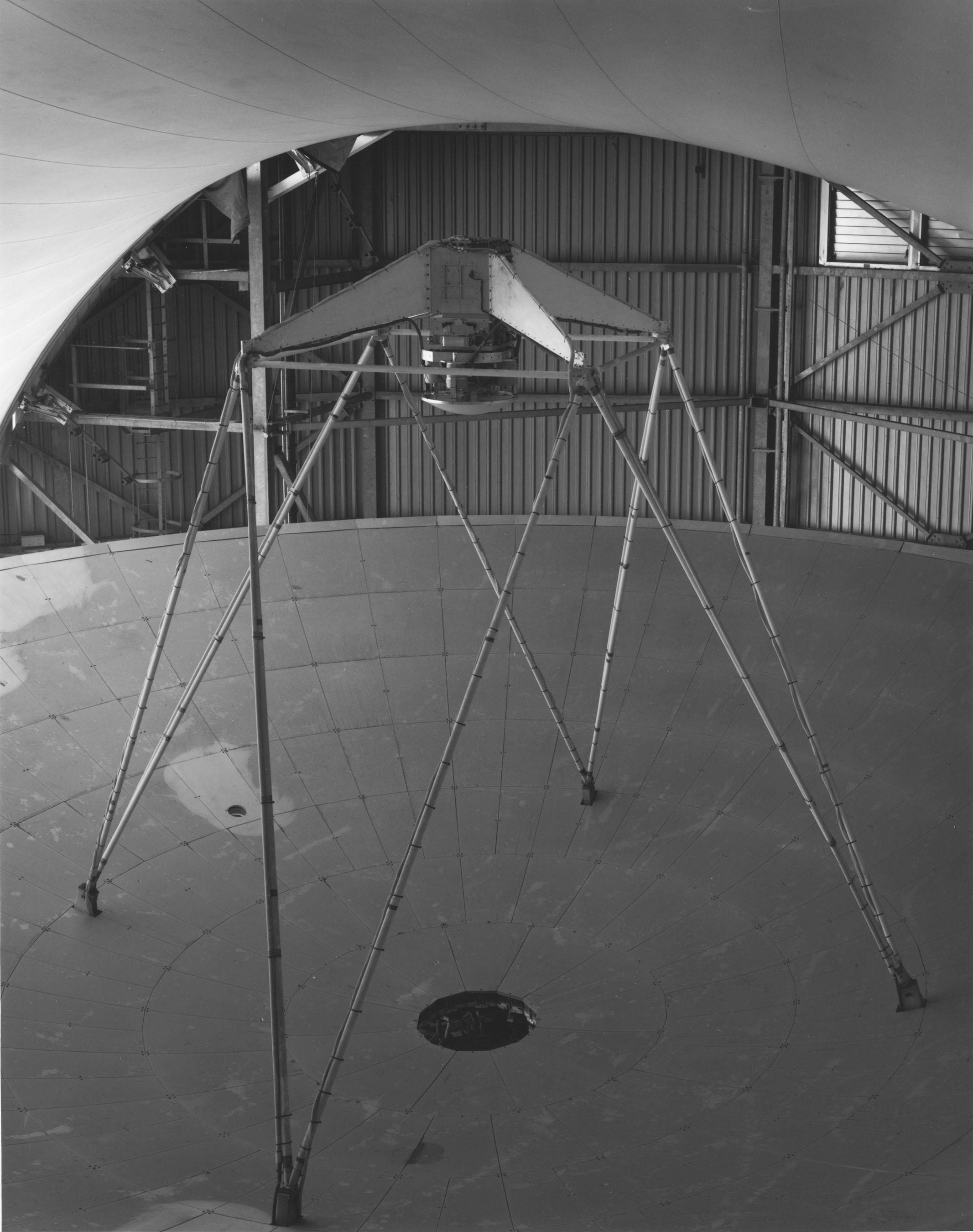 James Clerk Maxwell Telescope, Mauna Kea, Hawaii,