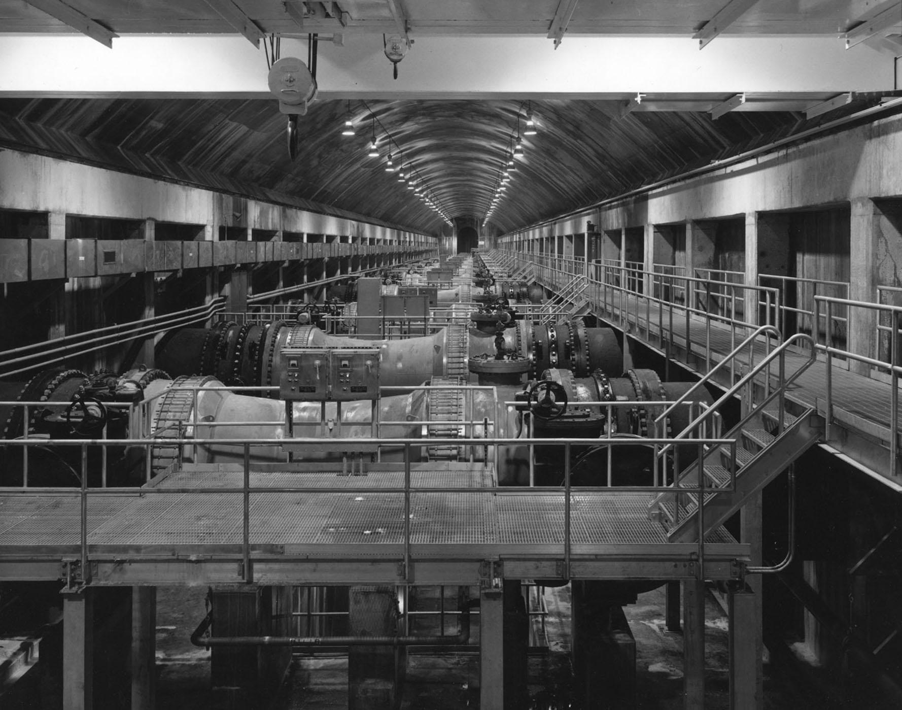 Valve Chamber, Shaft 2b, City Tunnel No. 3, Bronx, New York, 1993