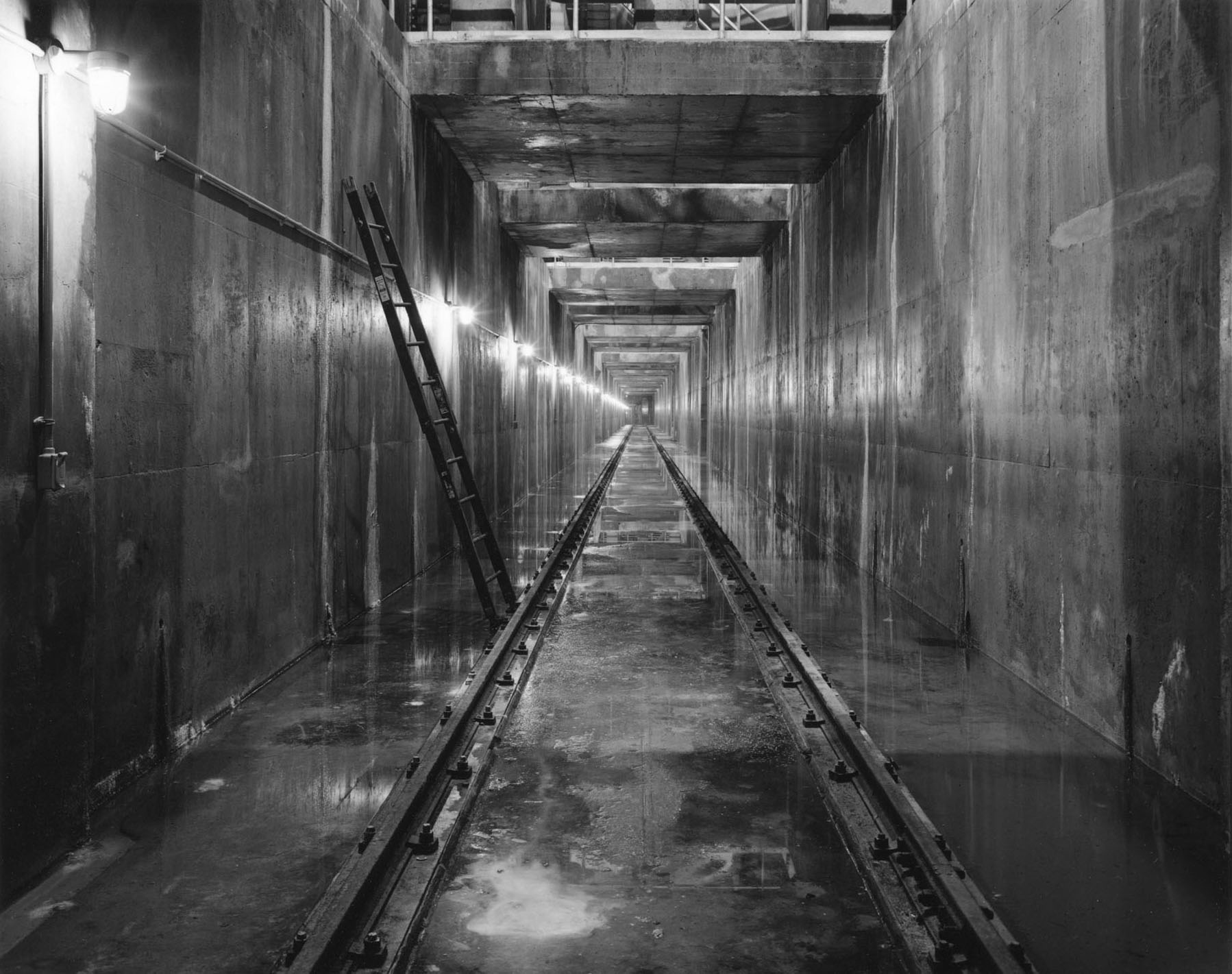 Maintenance Tunnel, Shaft 2b, City Tunnel No. 3, Bronx, New York, 1993