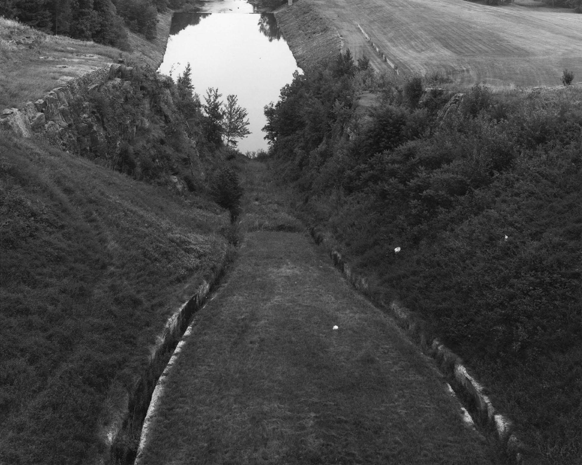 Stilling Basin, Neversink Reservoir, Sullivan County, New York, 1999