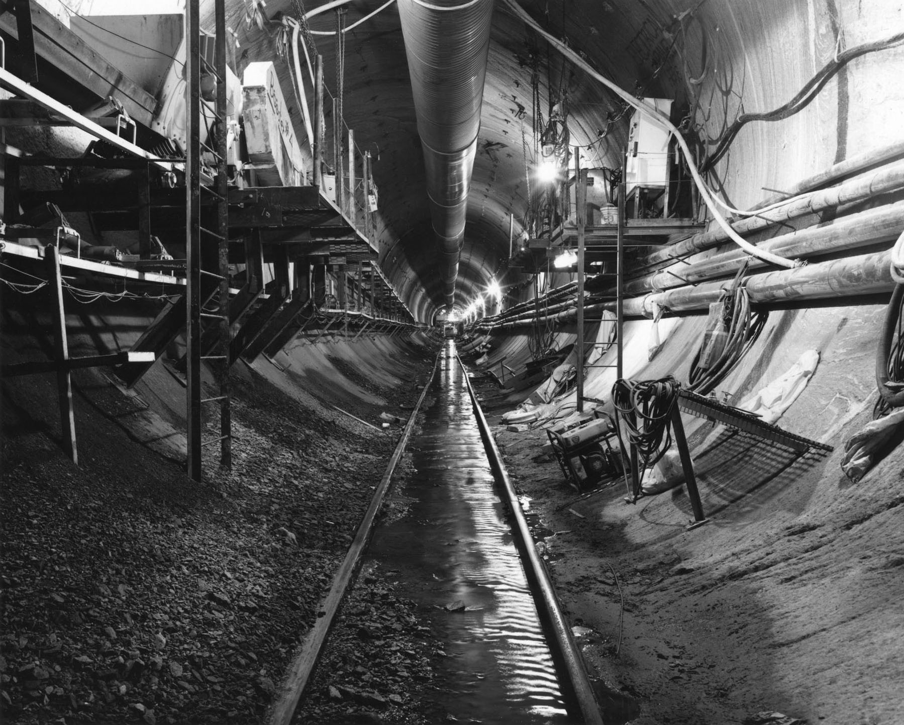 City Tunnel No. 3, Queens, New York, 1998
