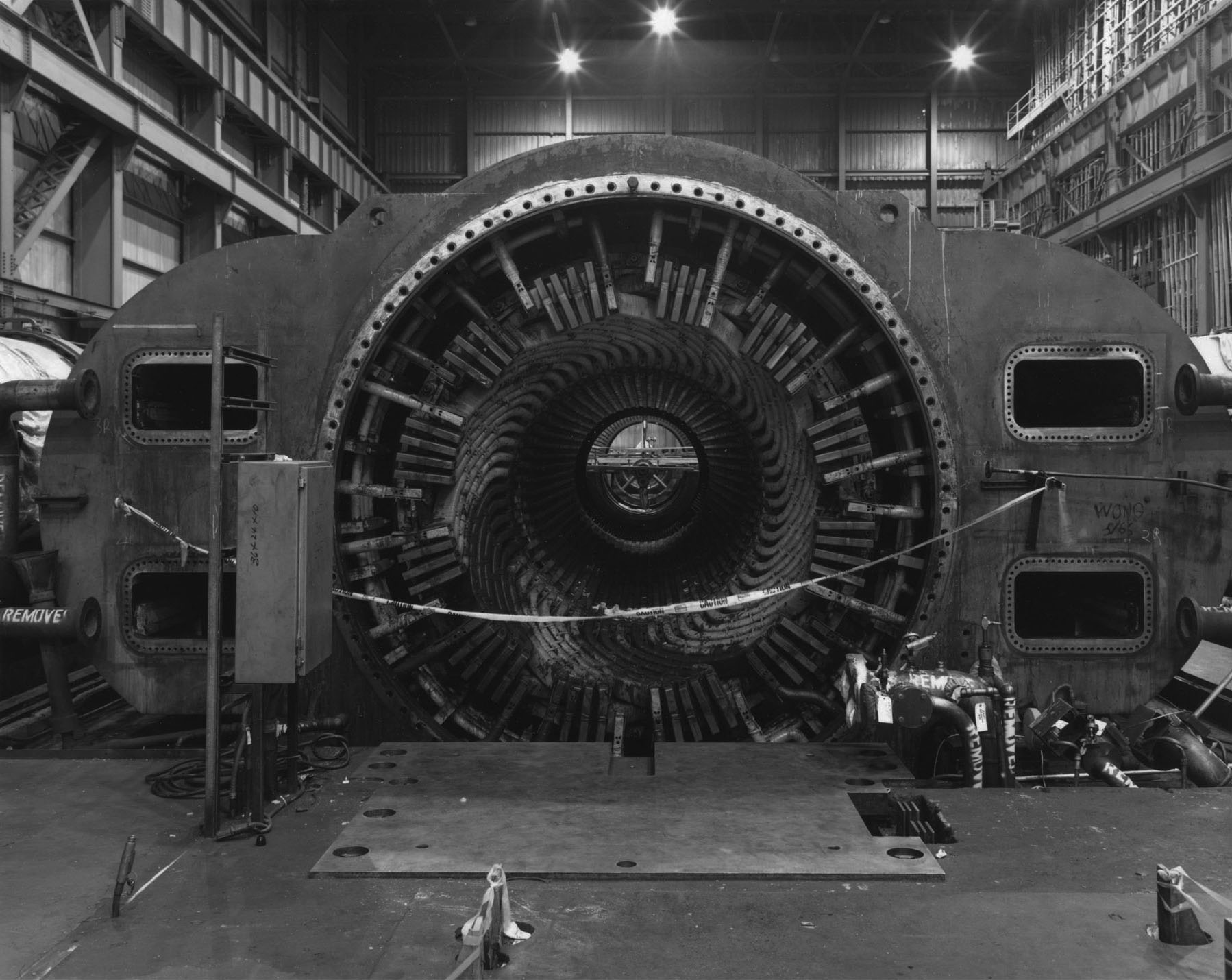 Turbine, Ravenswood Station, Queens, 1993