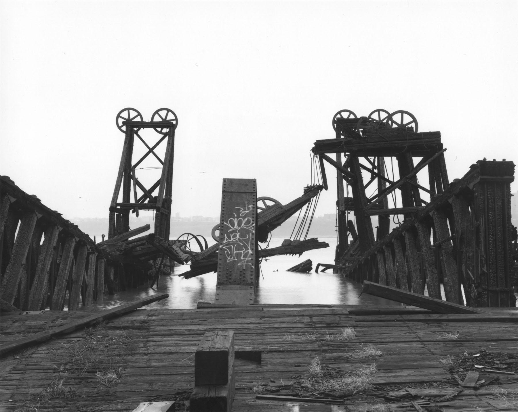 Barge Float Terminal, West Side Rail Yards, Manhattan, 1993