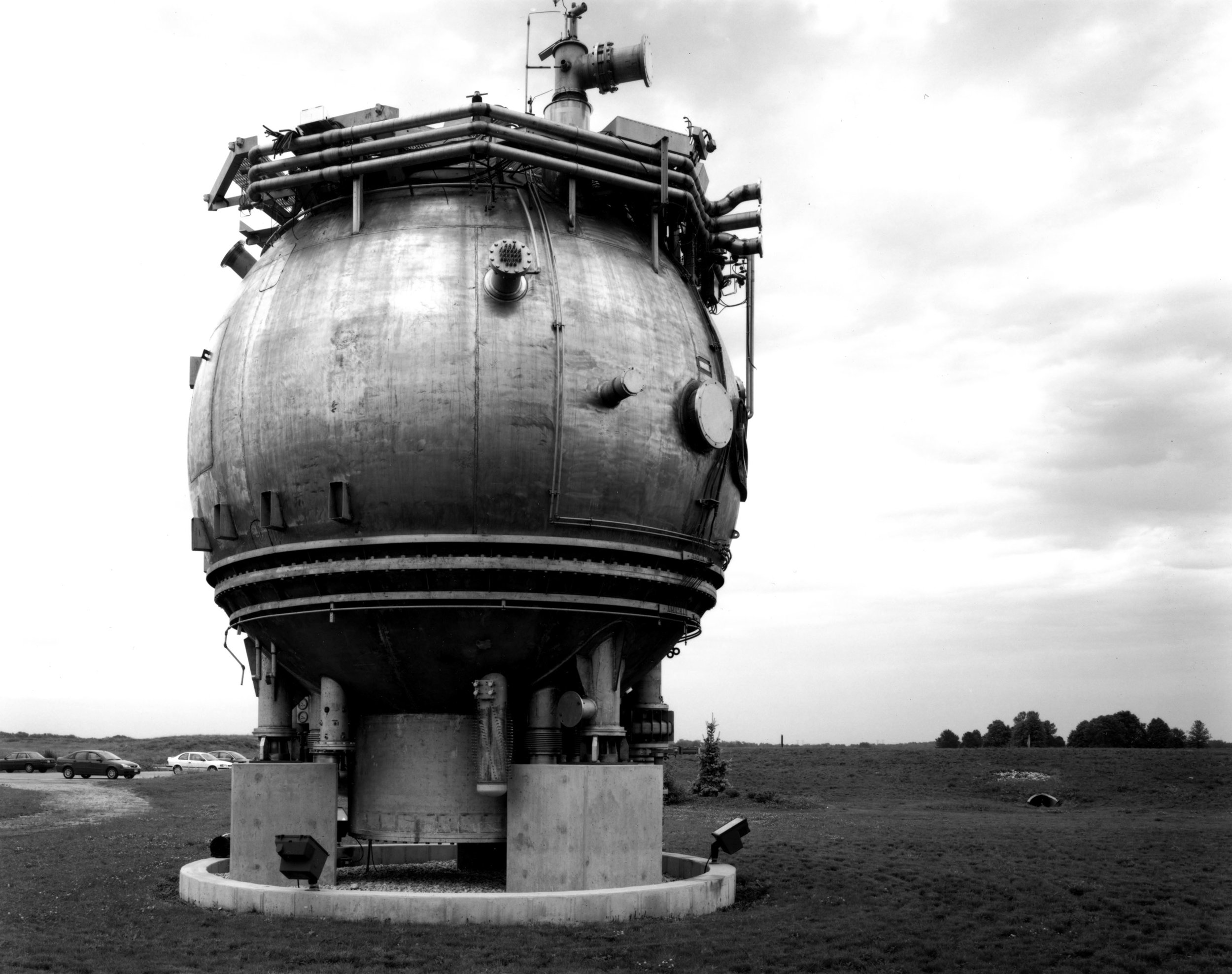 15-foot Bubble Chamber, Fermilab, Illinois, 2006