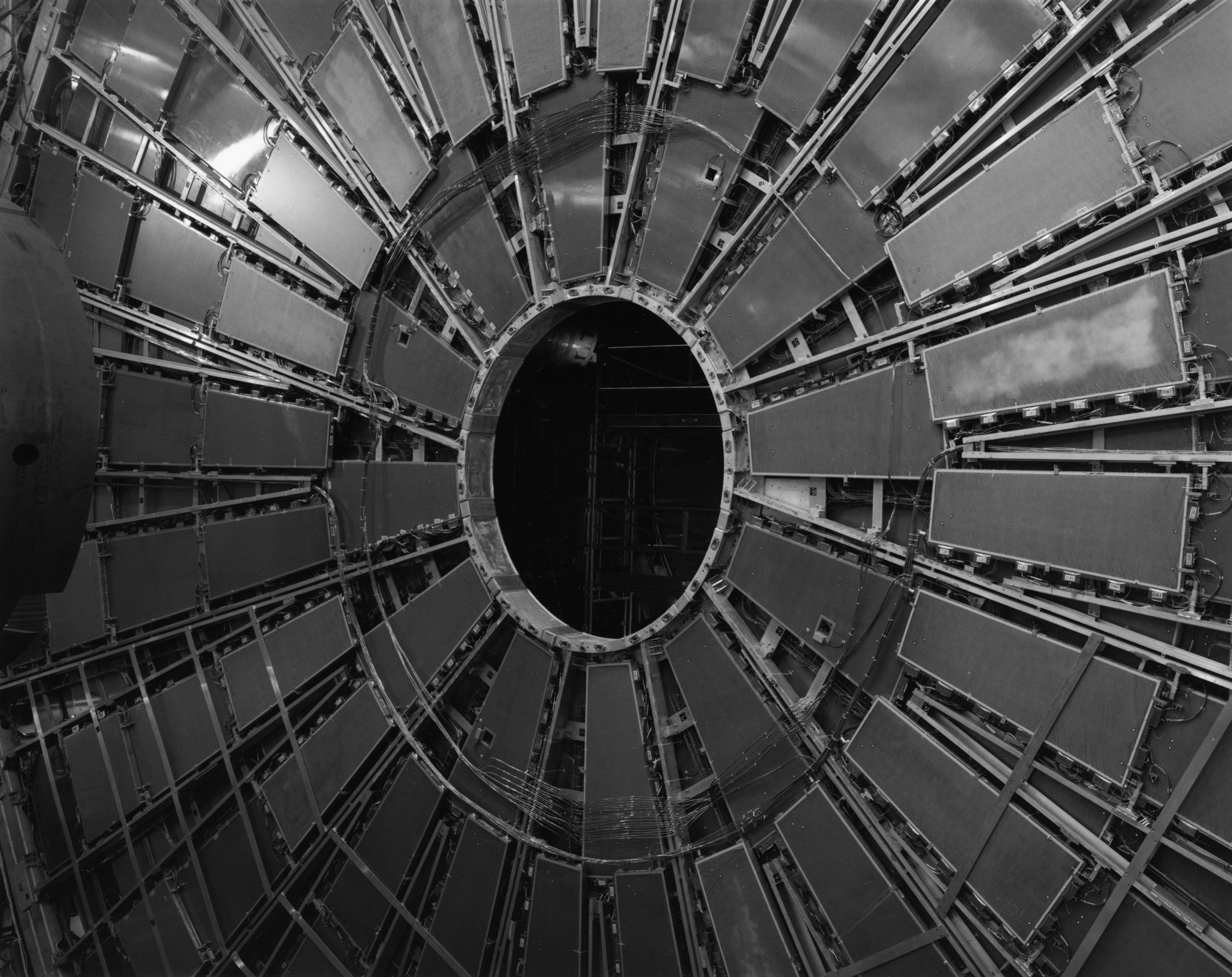 TGC Wheel, ATLAS Muon Spectrometer, Large Hadron Collider, CERN, Switzerland, 2006