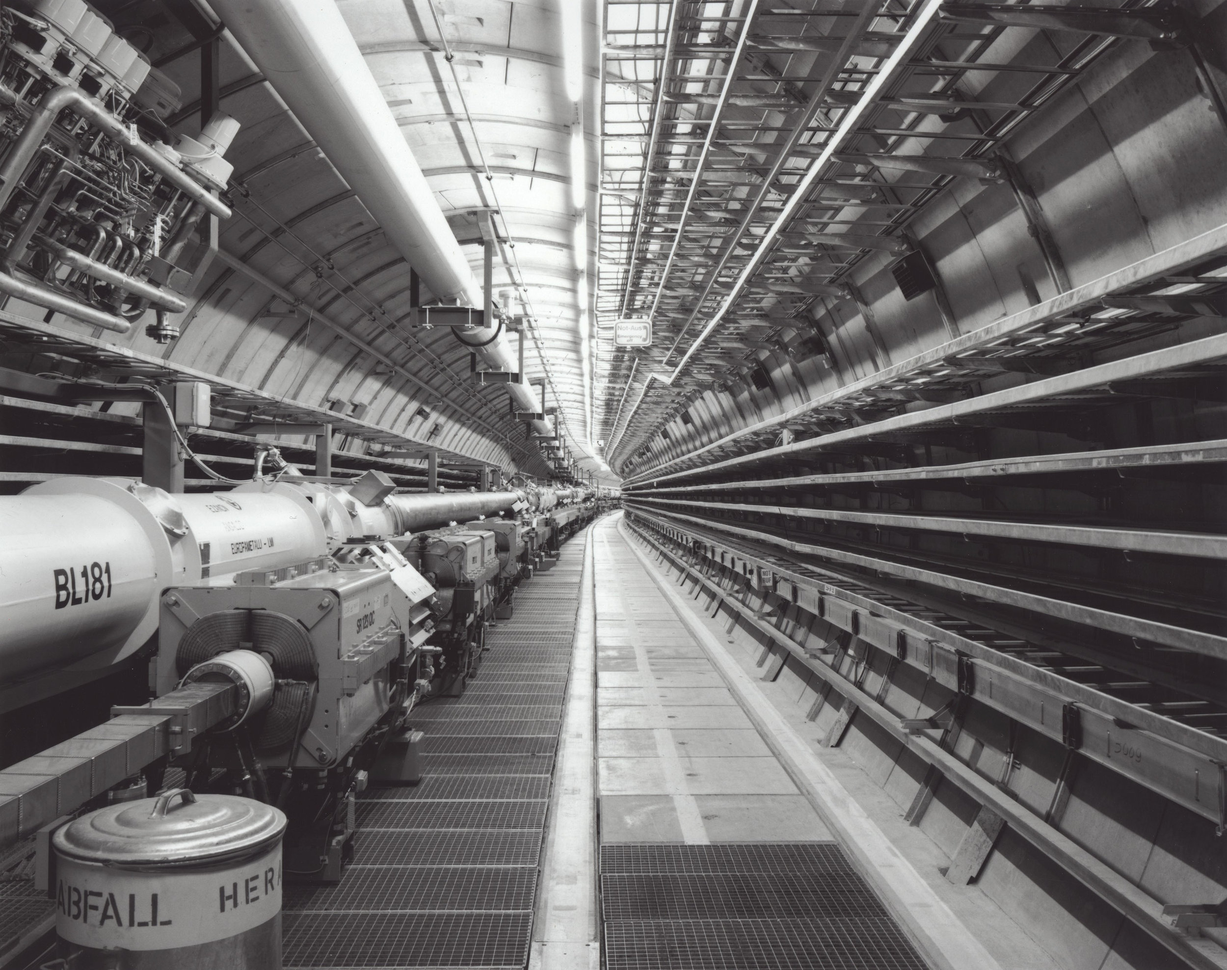 HERA Collider Tunnel, DESY, Germany, 2008