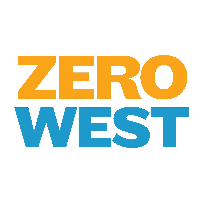 Zero West: Text only logo