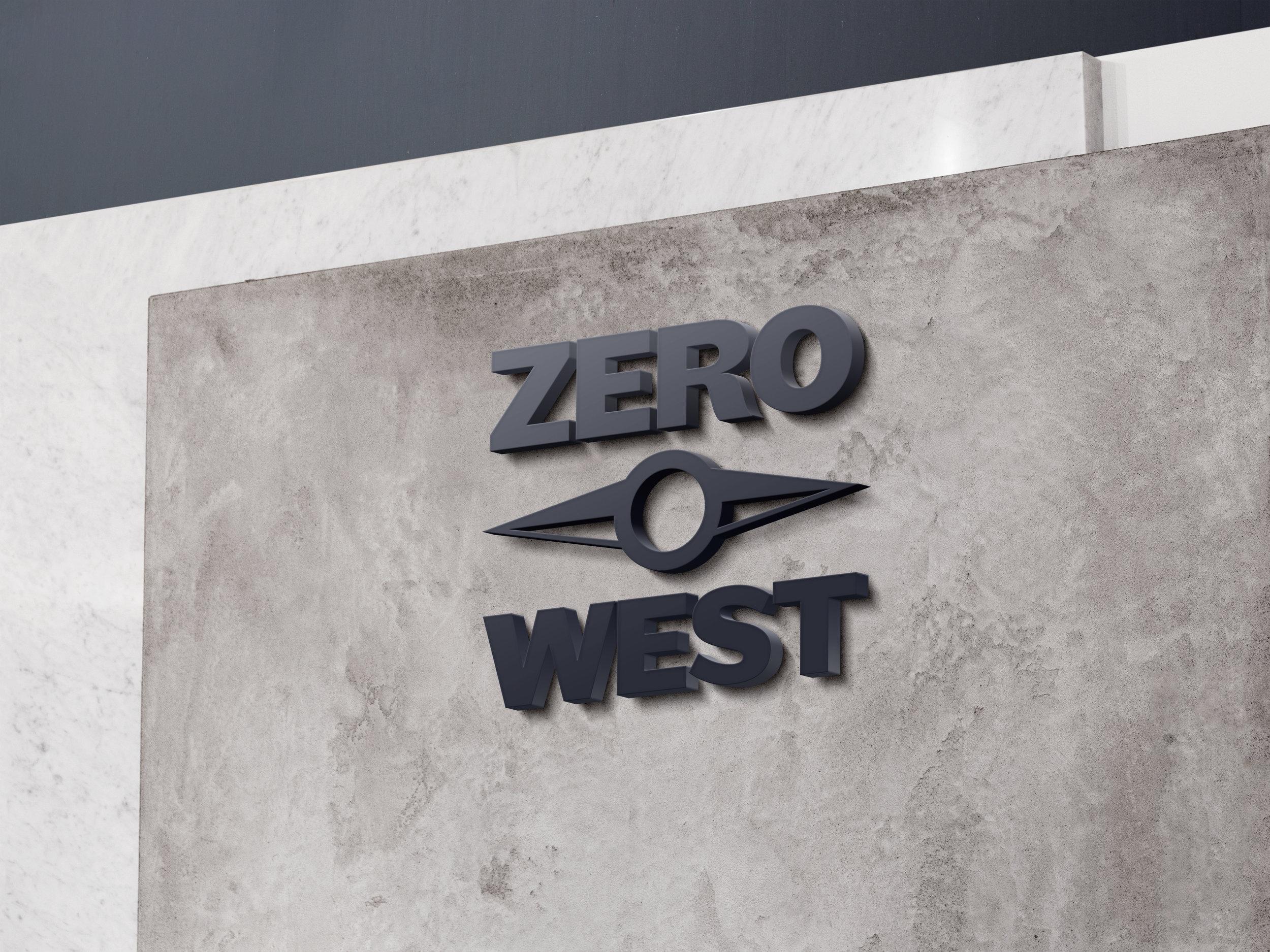 Zero West: Hotel Lobby Sign