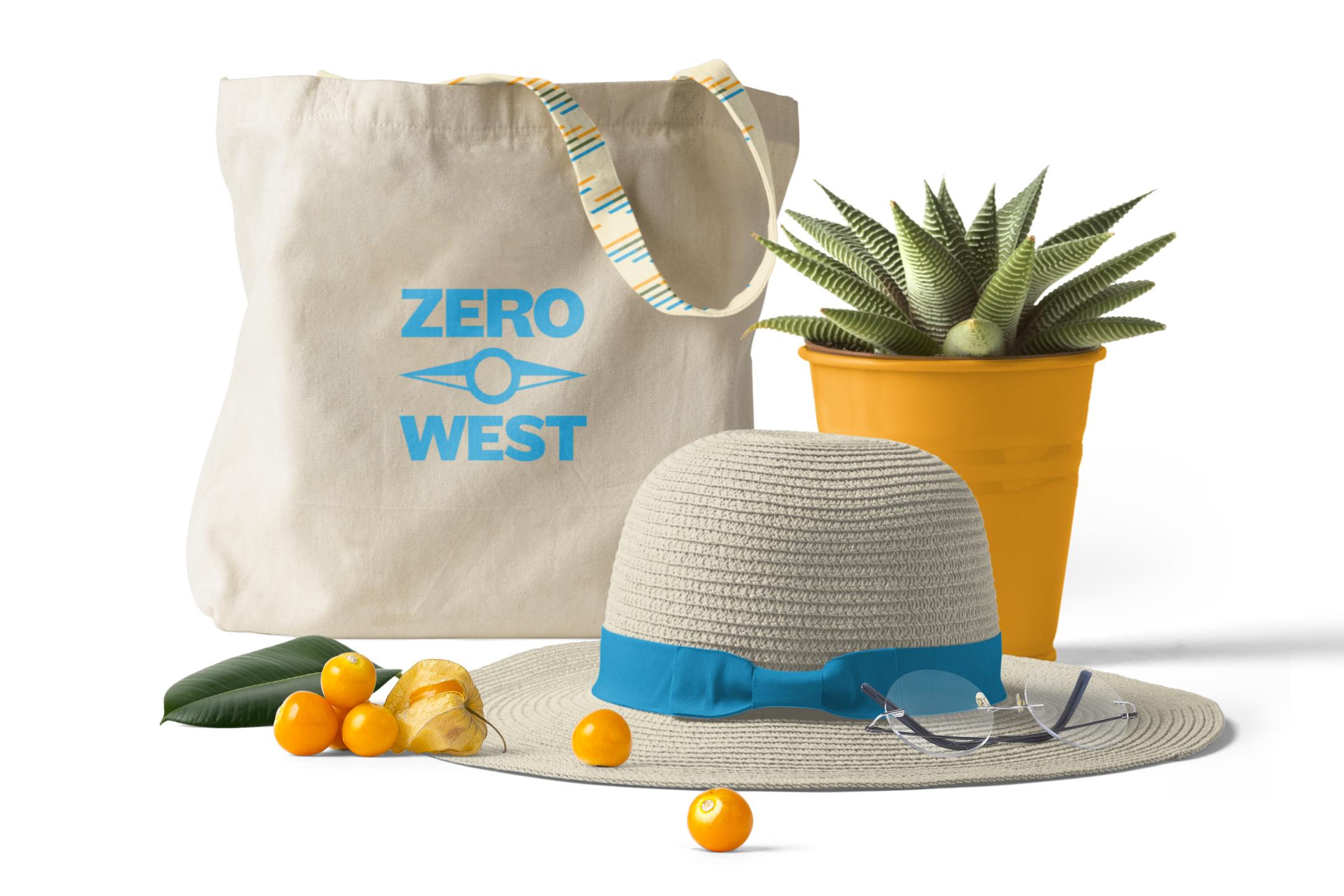 Zero West: tote bag design
